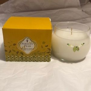 Thymes Persian pear aromatic candle